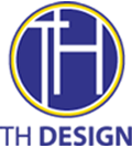 TH Design logo