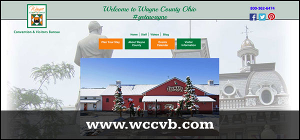 wayne county ohio visitors bureau website